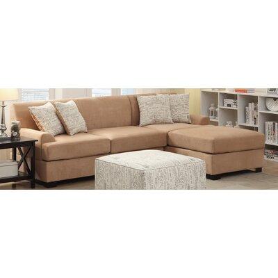 Poundex Y798384 Bobkona Samuel Sectional Upholstery