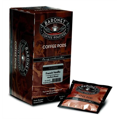 French Vanilla Flavored Single Cup Coffee Pod (pack Of 16)