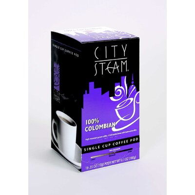 00% Colombian Single Cup Coffee Pod (pack Of 18)