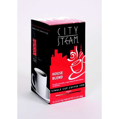 House Blend Single Cup Coffee Pod (pack Of 18)