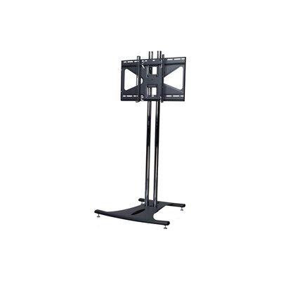 Floor Stand with 84 Dual Poles and Tilting Mount