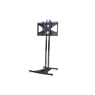 Floor Stand with 72 Dual Poles and Tilting Mount