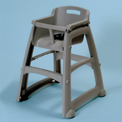 RUBBERMAID COMMERCIAL PRODUCTS Sturdy High Chair - Color: Platinum, Optional Accessory: No at Sears.com