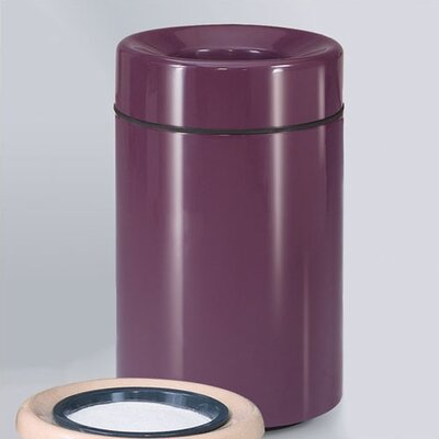 RUBBERMAID COMMERCIAL PRODUCTS Barclay Small Open Top Receptacle - Liner: Rigid Plastic, Finish/Color: Standard Almond (Set of 2) at Sears.com