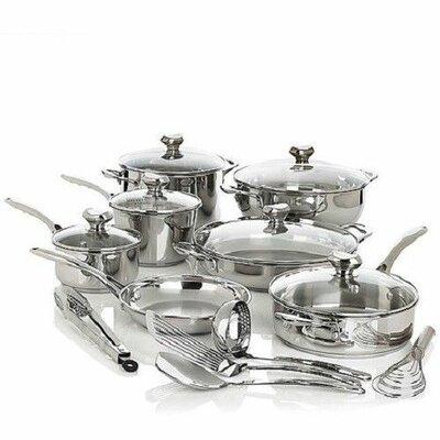 Bistro Elite 18 Piece Cookware Set WP18PC0813