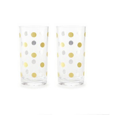 Raise a Glass 16 oz. Acrylic Highball Glass 143730