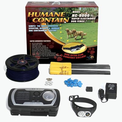 High Tech Pet Humane Contain Ultra System Dog Electric Fence at Sears.com