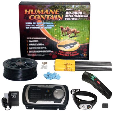 High Tech Pet Extra Value Combo Systems Humane Contain Dog Electric Fence and Sonic Trainer at Sears.com