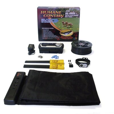 High Tech Pet Extra Value Combo Systems Humane Contain Super Dog Electric Fence and Scat Pad at Sears.com