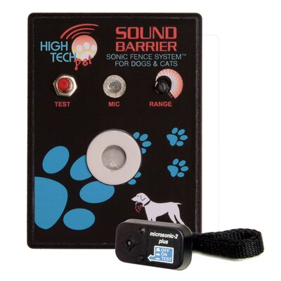 "Sound Barrier Indoor Sonic Pet Electric Fence Size: 1 Station (4"" H x 9"" W x 12"" ) SB-1"