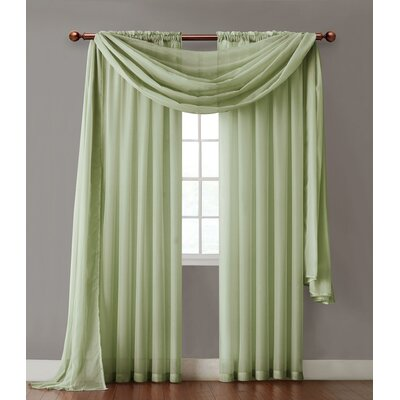 Victoria Classics Infinity Sheer Curtain Single Panel - Color: Sage at Sears.com