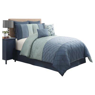 Victoria Classics Covington 8 Piece Comforter Set - Size: King, Color: Teal
