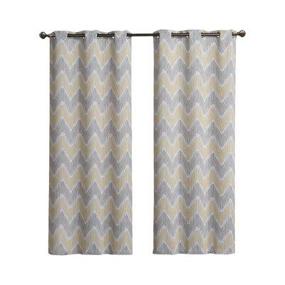 Victoria Classics Marlie PRT Blackout Grommet Curtain Panel (Set of 2) - Size: 84