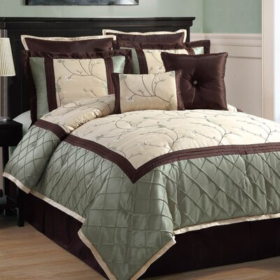 Victoria Classics Alexandria 8 Piece Comforter Set - Size: King at Sears.com