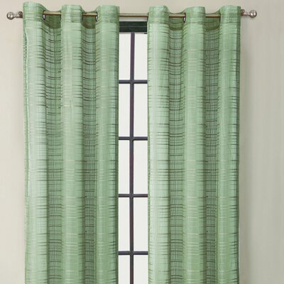 Victoria Classics Clinton Stripe Grommet Curtain Single Panel - Color: Sage at Sears.com