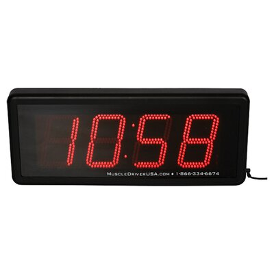Muscle Driver USA Clock Gone Bad at Sears.com