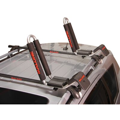 Image of Malone Auto Racks J-Loader J-Style Universal Car Rack Kayak Carrier with Bow and Stern Lines (MPG118MD)