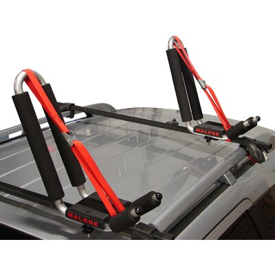 Cheap Malone Auto Racks J-Pro 2 J-Style Universal Car Rack Kayak Carrier with Bow and Stern Lines (MPG117MD)