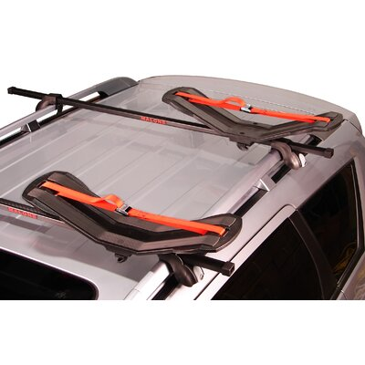 Cheap Malone Auto Racks SeaWing Saddle Style Universal Car Rack Kayak Carrier with Bow and Stern Lines (MPG107MD)