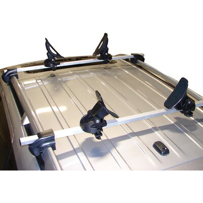 Cheap Malone Auto Racks Saddle Up Pro Universal Car Rack Kayak Carrier (Set of 4) with Bow and Stern Lines (MPG110MD)