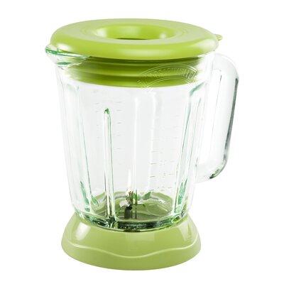 Margaritaville Plastic Jar with Lid Color: Key Lime Green AD3300-000-000