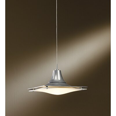 Hood 1-Light Inverted Pendant Install Type: Universal Coaxial Connnector