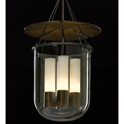 Piccadilly 4 Light Foyer Pendant Finish: Natural Iron