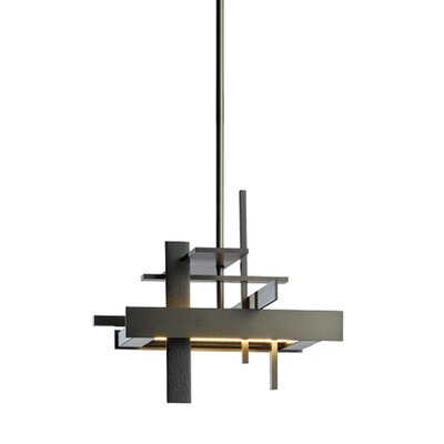 Planar Mini Pendant Size: Standard, Finish: Black