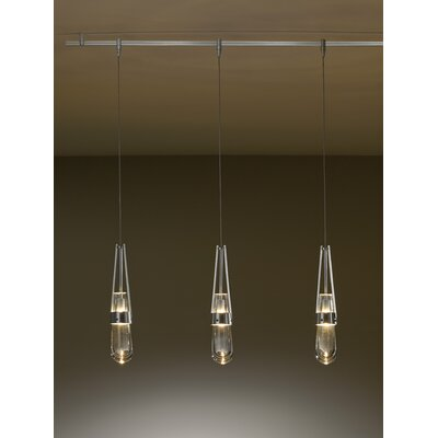 Link Mini Pendant Shade Color: Clear, Install Type: Universal Coaxial Connnector