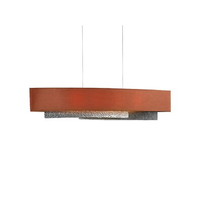 Oceanus Drum Pendant Shade Color: Terra Suede