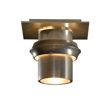 Twilight 1-Light Flush Mount Finish: Aluminum
