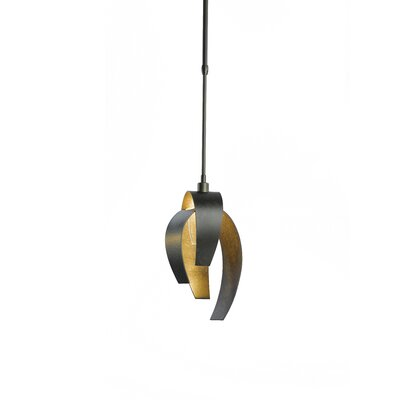 Corona 1-Light Pendant Finish: Mahogany