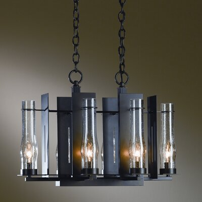 New Town 6-Light Candle-Style Chandelier Finish: Natural lron