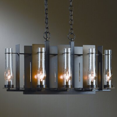 New Town 8-Light Candle-Style Chandelier Finish: Natural lron