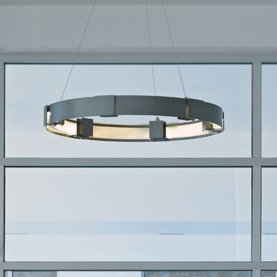 Aura 1-Light LED Mini Pendant Finish: Natural Iron