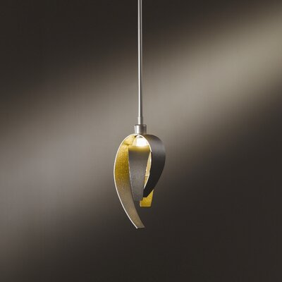 Corona 1-Light Pendant Finish: Translucent Burnished Steel