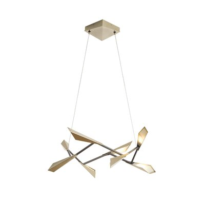 Quill 8-Light LED Geometric Pendant