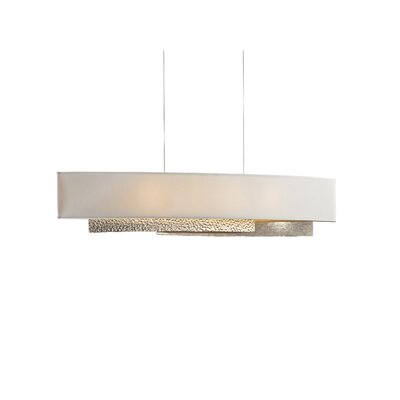 Oceanus 4-Light Drum Pendant Shade Material: Natural Anna