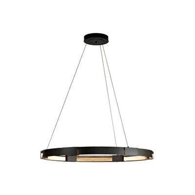 6-Light Aura Pendant Finish: Dark Smoke