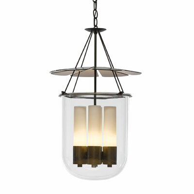 Piccadilly 4-Light Foyer Pendant Finish: Dark Smoke