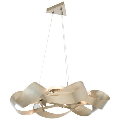 Flux LED Pendant Finish: Soft Gold