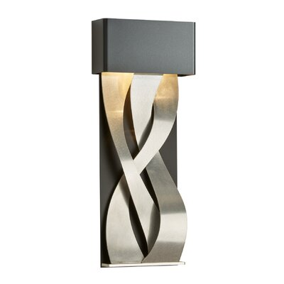 4 Seasons Autumn LED Pendant Size: Medium, Finish: Burnished Steel