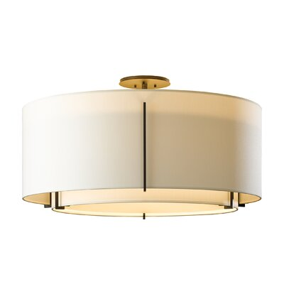 Exos 3-Light Semi Flush Mount