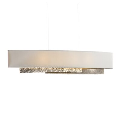 Oceanus 4-Light Drum Pendant Shade Material: Flax