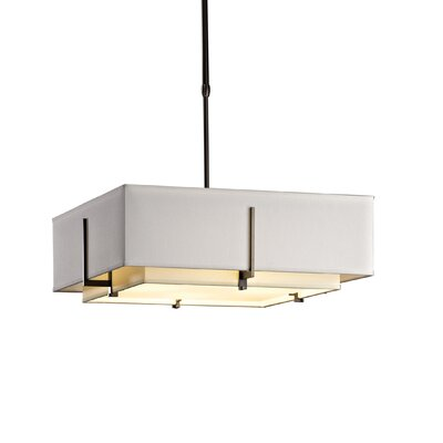 Exos 4-Light Drum Kitchen Island Pendant