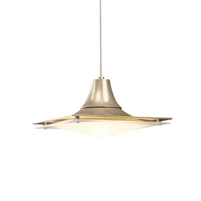 Hood 1-Light Mini Pendant Installation Type: Standard Canopy