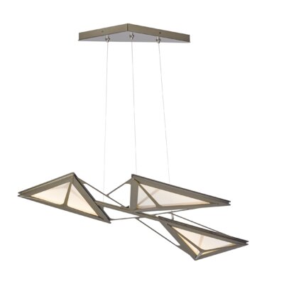 Vitrage LED Cascade Pendant Finish: Bronze