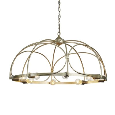 Arbor 8-Light Inverted Pendant Finish: Soft Gold