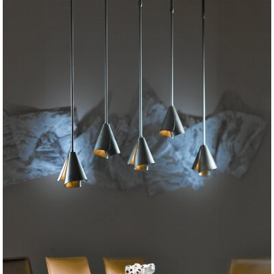 Mobius 1-Light Adjustable Pendant Finish: Brushed Steel
