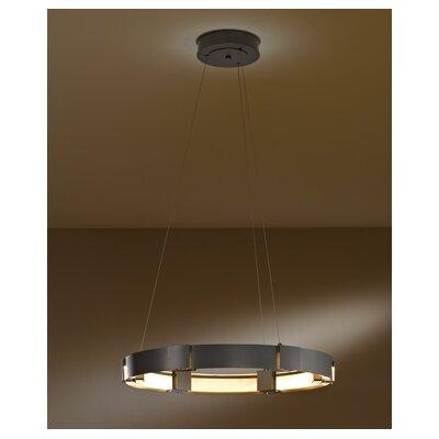 Aura 1-Light LED Mini Pendant Finish: Dark Smoke